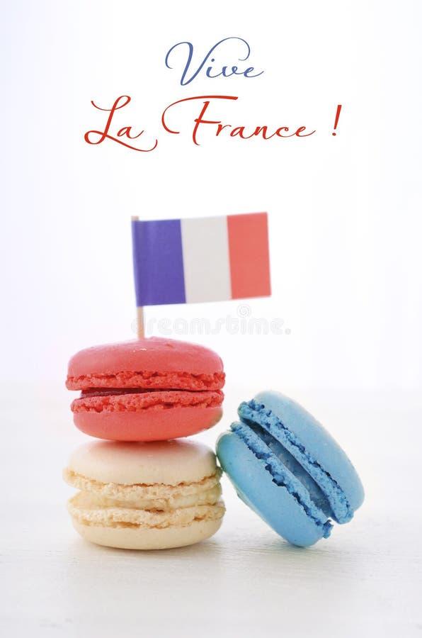 Download Partito Felice Macarons Di Giorno Di Bastille Fotografia Stock - Immagine di forno, europa: 55352438