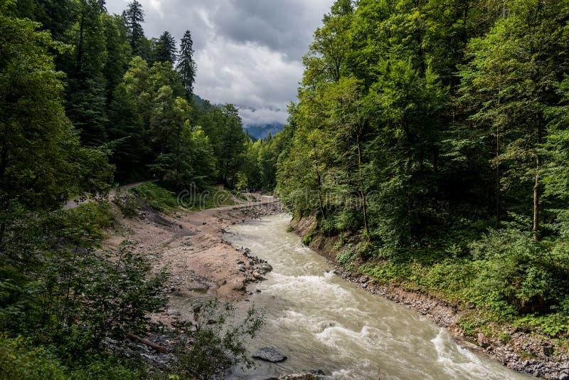 Partnachklamm, Garmisch-Partenkirchen, Allemagne photographie stock libre de droits