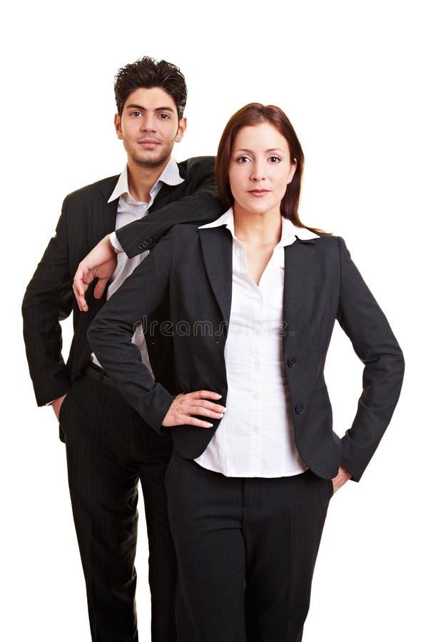 partner biznesowy dwa zdjęcia royalty free