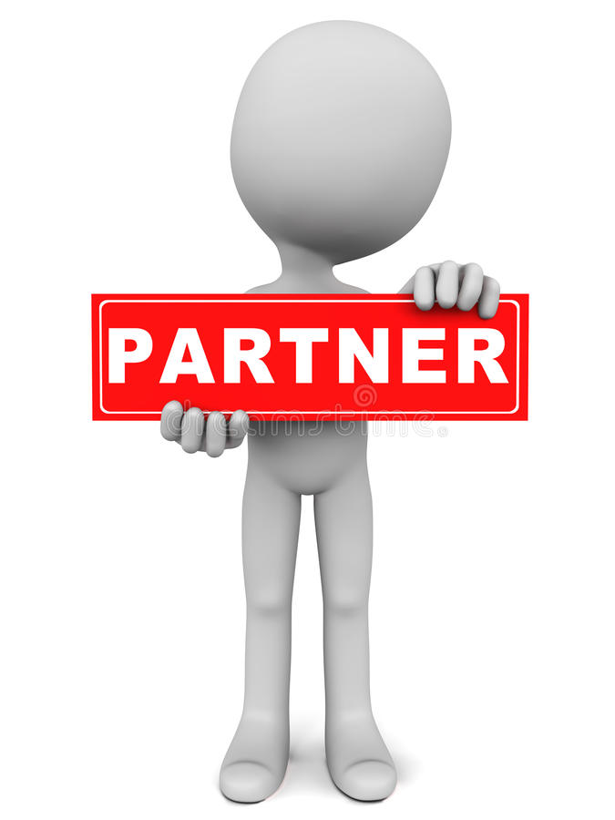 Partner Stock Illustration