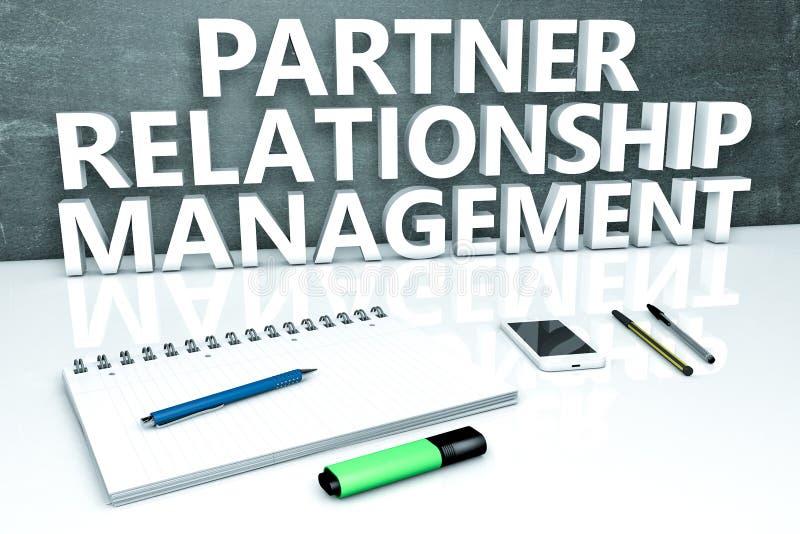 partner Verhouding houden royalty-vrije illustratie