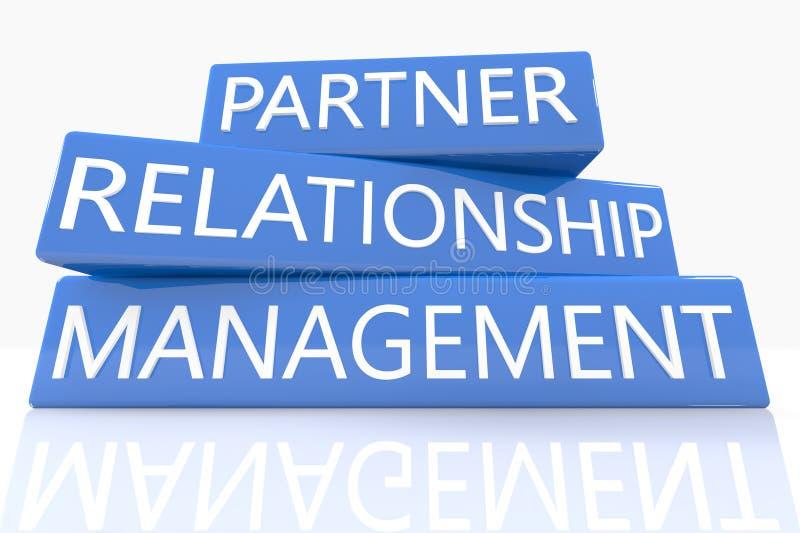 partner Verhouding houden stock illustratie