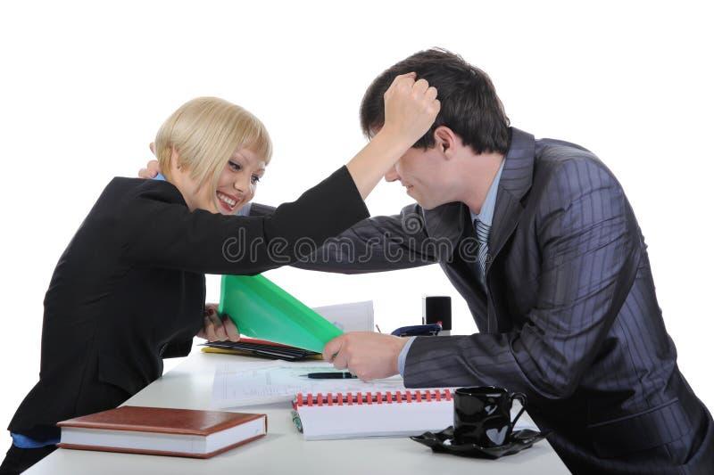 partnera biznesowy bełt dwa zdjęcia stock