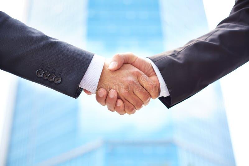 Partnerschaft stockbild