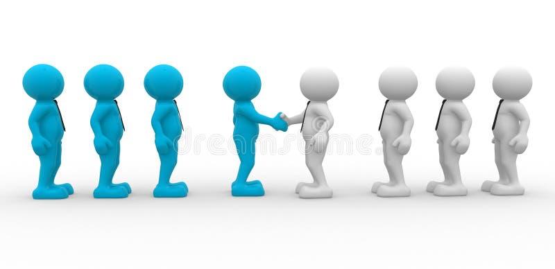 Download Partnership stock illustration. Illustration of friendship - 23836269