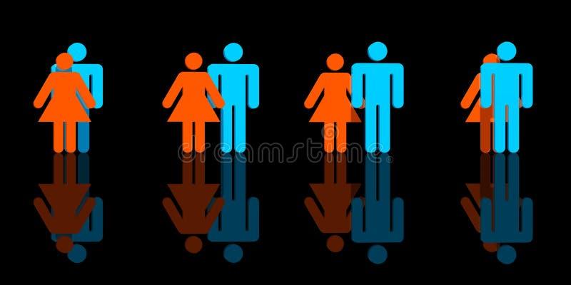 Download Partnership stock illustration. Image of female, guard - 3277623