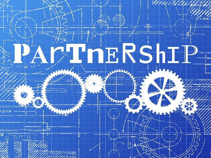 Partnership blueprint tech drawing stock vector illustration of download partnership blueprint tech drawing stock vector illustration of blueprint tech 111097473 malvernweather Gallery
