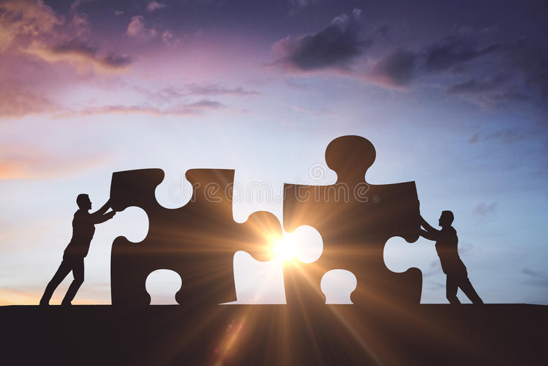 Partnership concept royalty free stock image