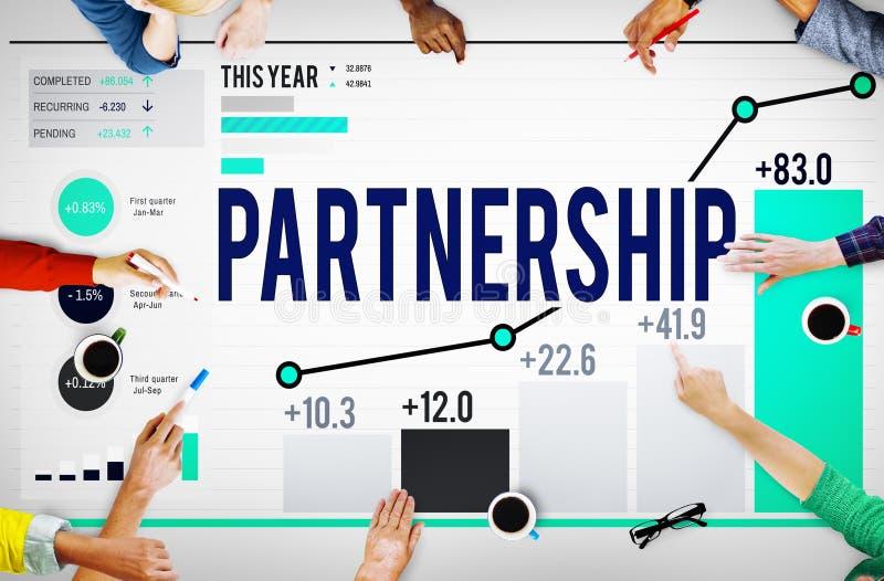 Partnership Organization Strategy Team Building Concept stock photos