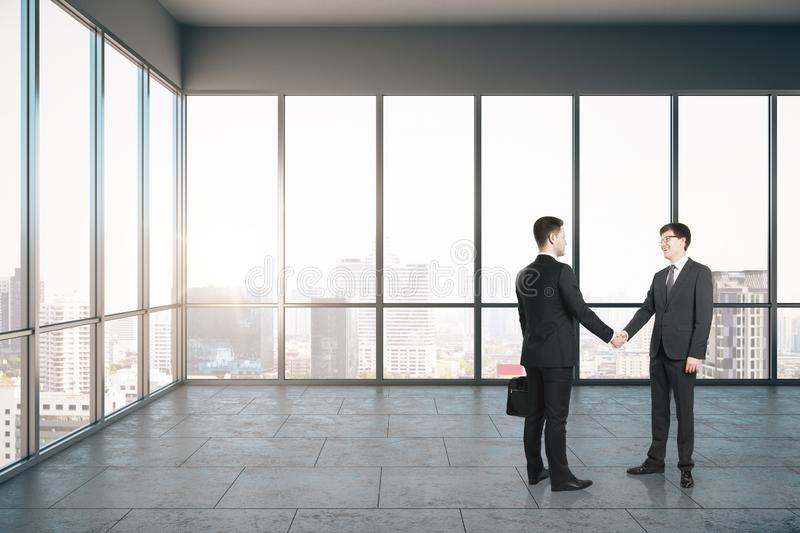 Partnership and success concept royalty free stock images