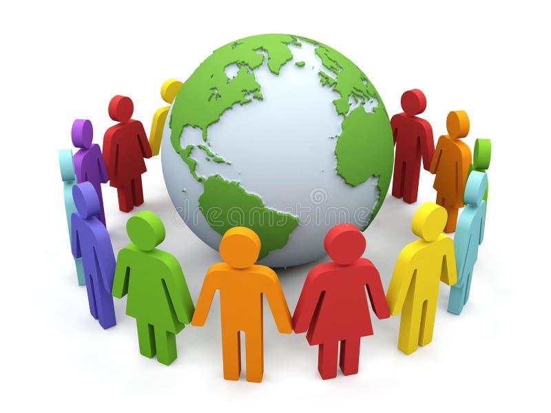 partnerstwo świat ilustracja wektor