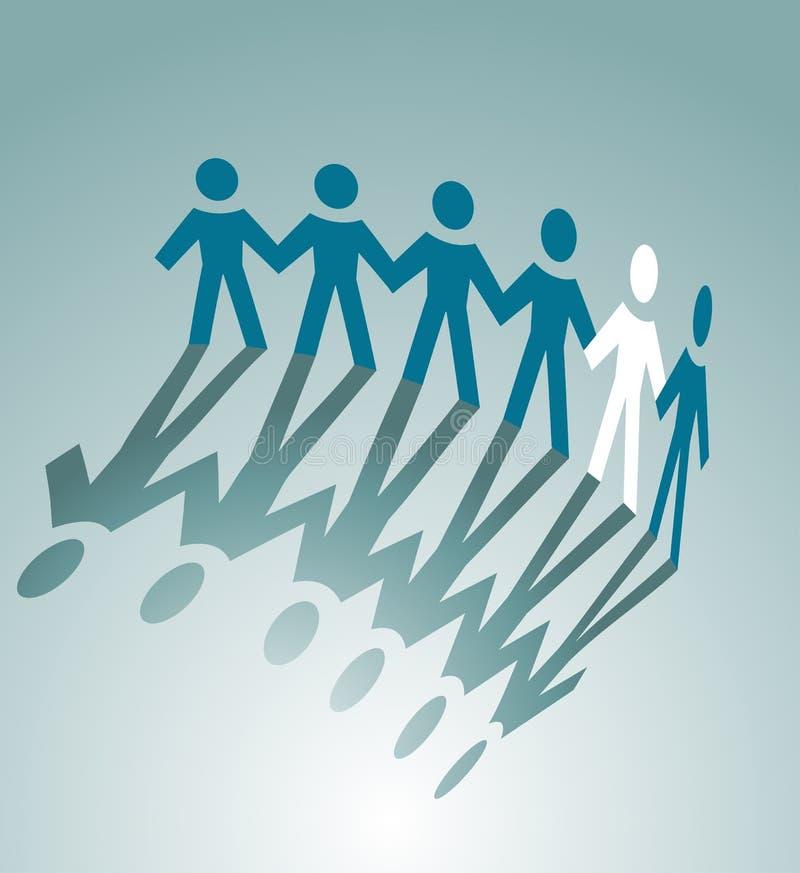 Download Partnerstwo symbol ilustracja wektor. Obraz złożonej z partnerstwo - 21994105