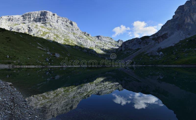 Partnunsee, Ratikon, Switzerland royalty free stock photos