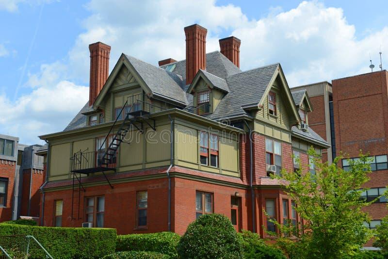 Partridge Hall, Brown University, Providence, USA. Partridge Hall in Brown University, Providence, Rhode Island, USA stock photos