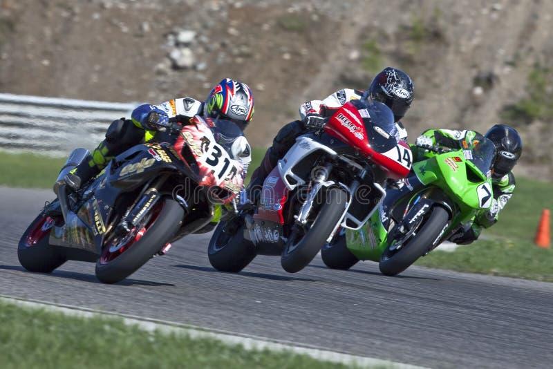 Parts Canada Superbike Championship (Round 1) May royalty free stock photo