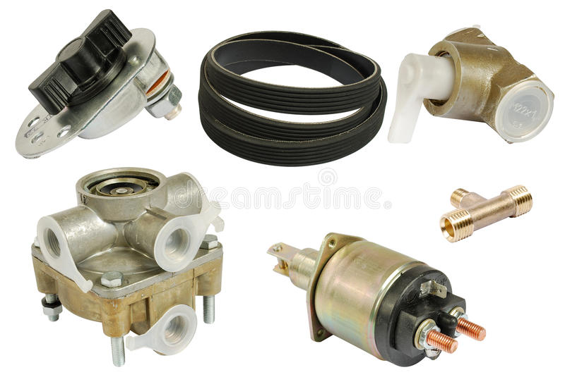 Download Parts of car stock photo. Image of white, engine, parts - 18467472