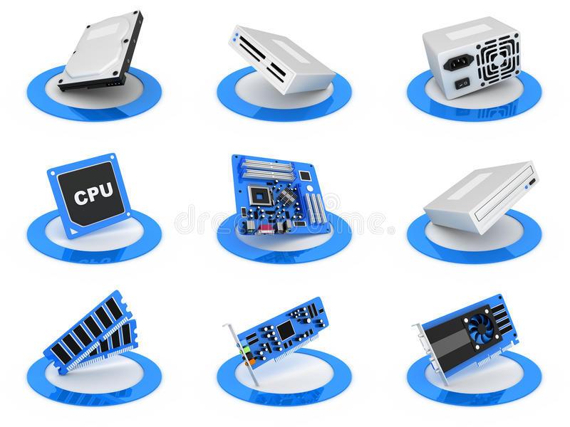 Download Parts Computer Icon Stock Images - Image: 21822784