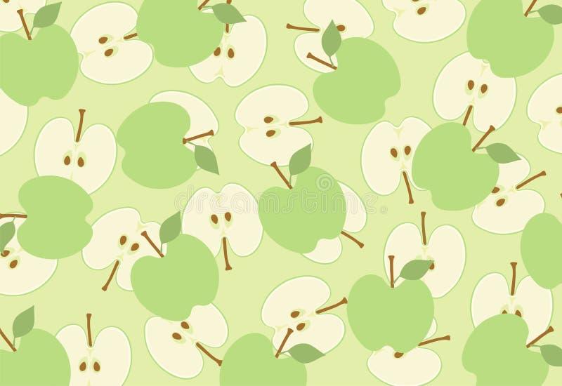 Parts d'Apple illustration libre de droits