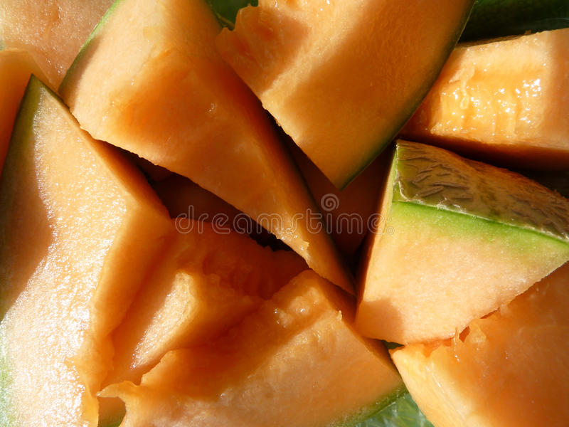Download Parts of orange melon stock photo. Image of fruit, fruits - 10476106