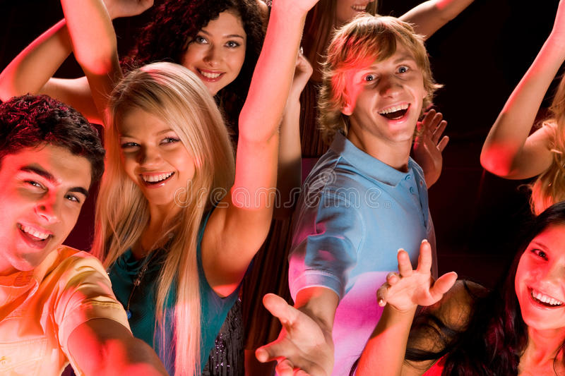 Party stock image
