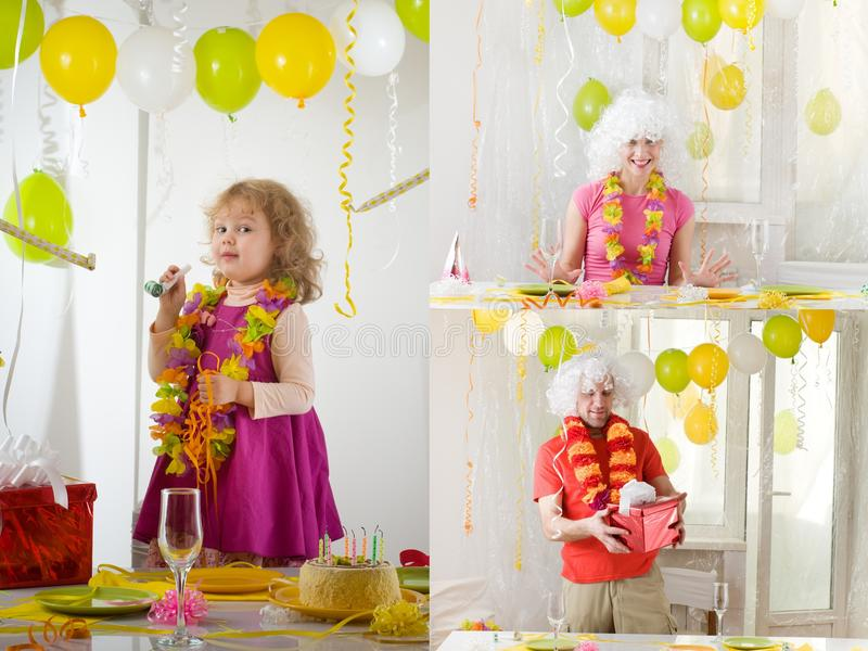Party stockfotografie