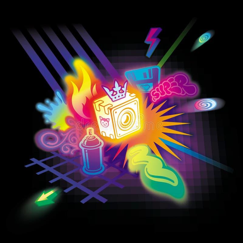 Download Party stock illustration. Illustration of lightning, house - 1746586
