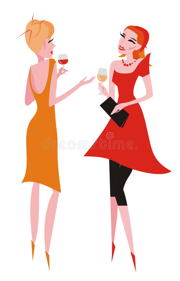 Download Party stock vector. Image of amiable, young, conversation - 20378263