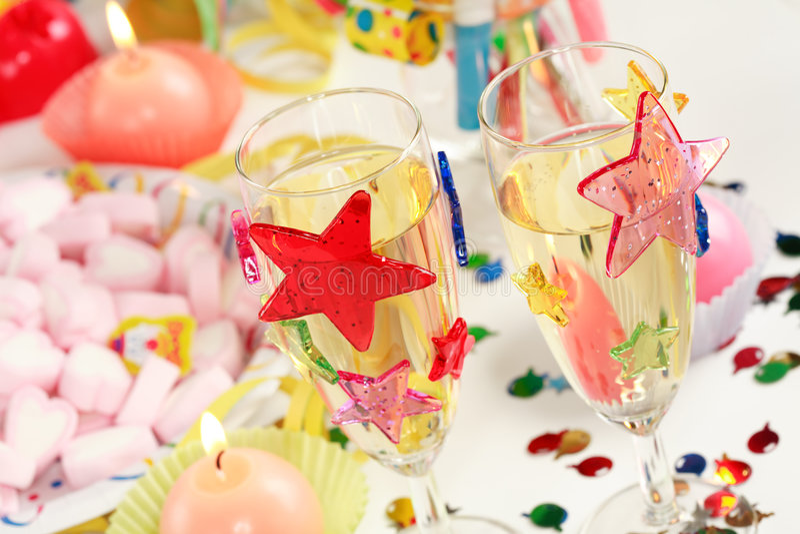 Party photo stock