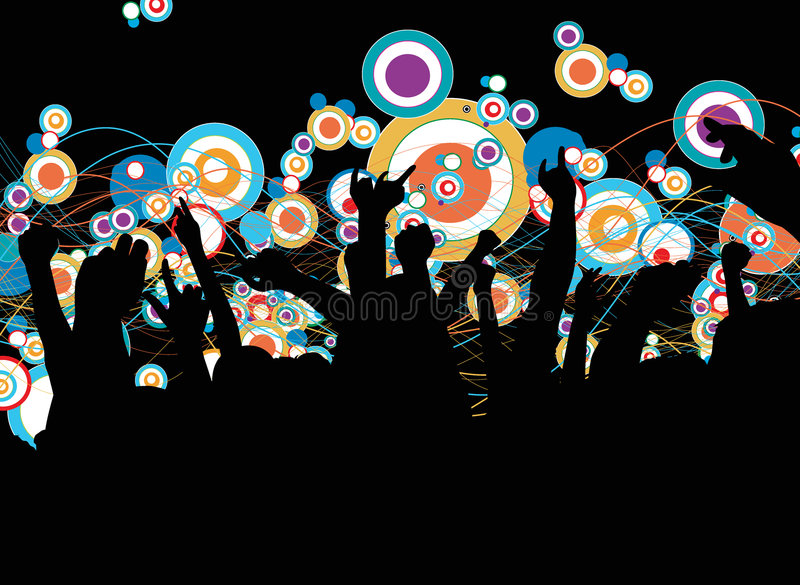 Download Party stock vector. Image of culture, people, cool, group - 3967246