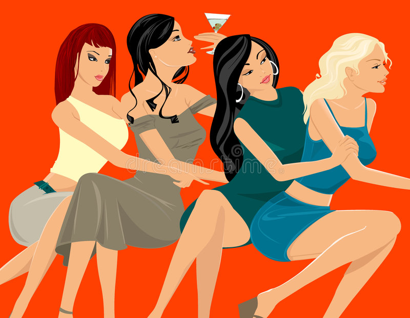 Party royalty free illustration