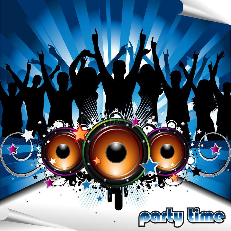 Party-Abbildung stock abbildung