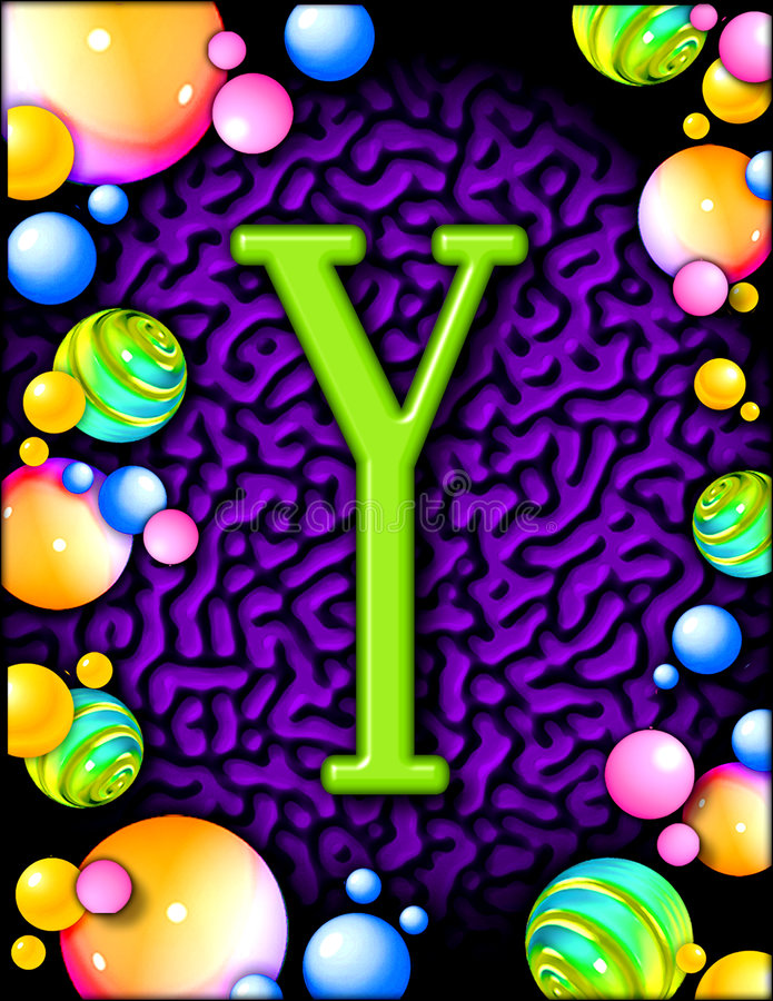 Download Party Alphabet - Y Stock Photography - Image: 1308292