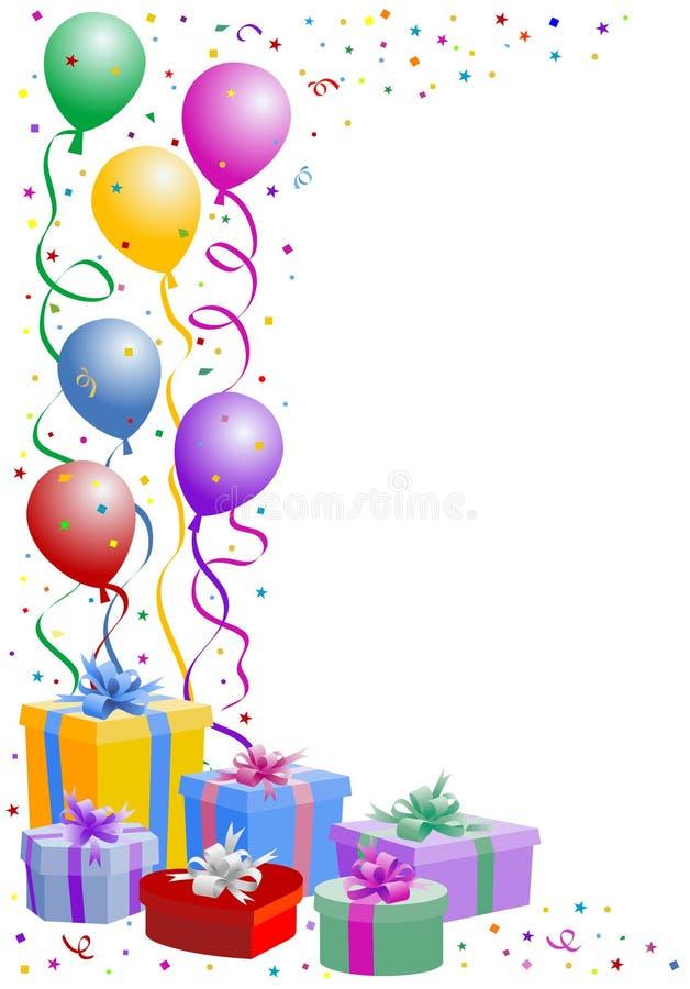 Party balloon royalty free illustration