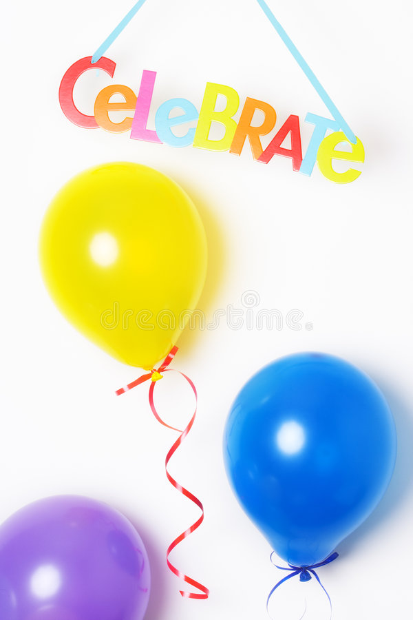 Free Party Balloons Stock Photography - 6754092
