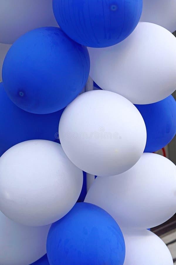 Party balloons stock photo