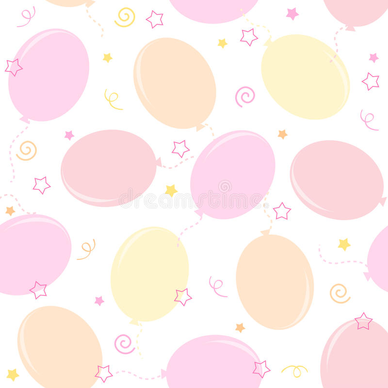 Download Party Balloons Seamless Pattern Royalty Free Stock Image - Image: 17179466