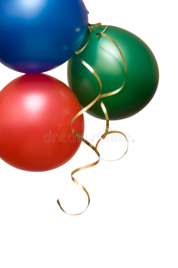 Party baloons stock image
