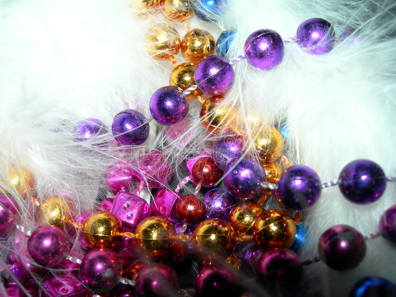 Party Beads stock image