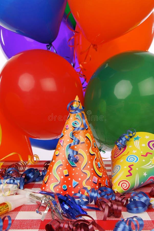Party-Bevorzugungen lizenzfreie stockfotos