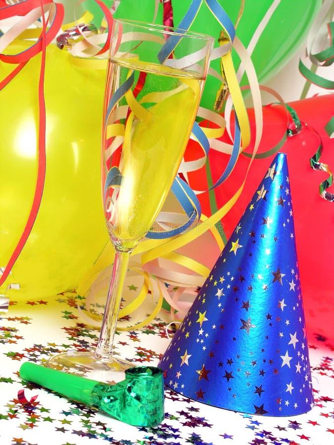 Party-Bevorzugungen stockfotografie