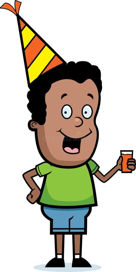 Party Boy vector illustration