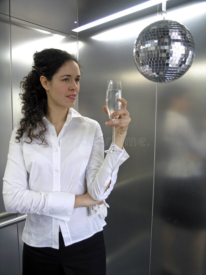 Party Businesswoman royalty free stock photos
