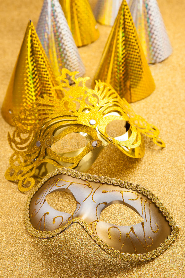 Party and carnival still life stock photo