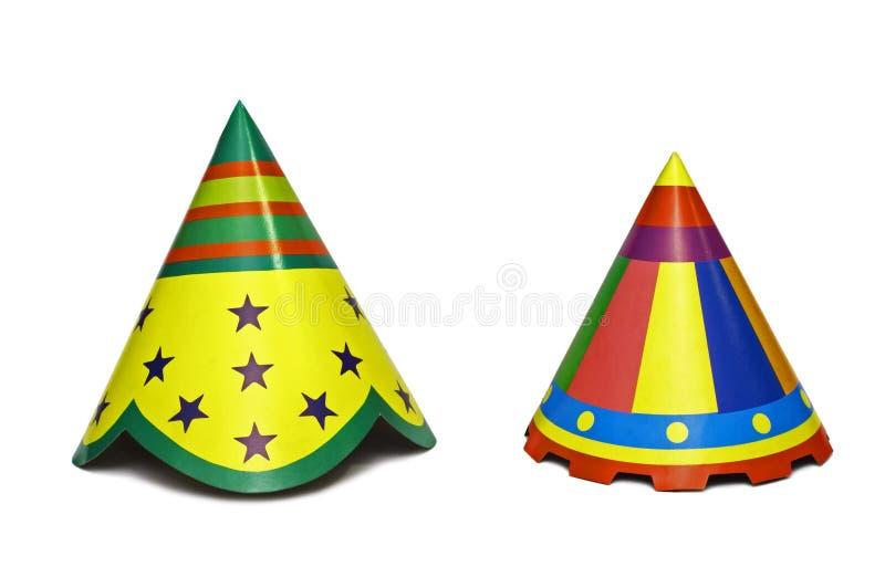 Party chapéus imagens de stock