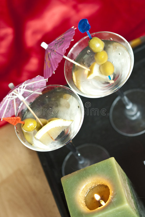 Party cocktails royalty free stock image