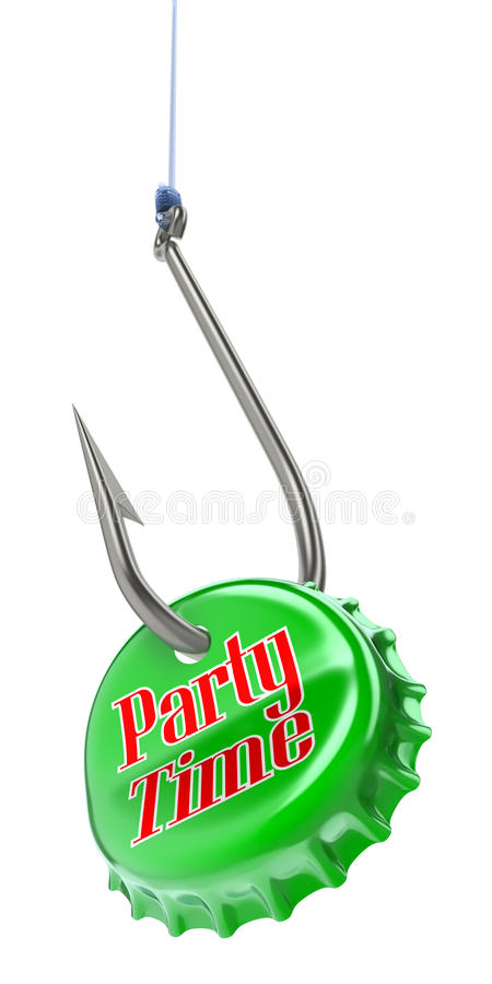 Party concept royalty free illustration
