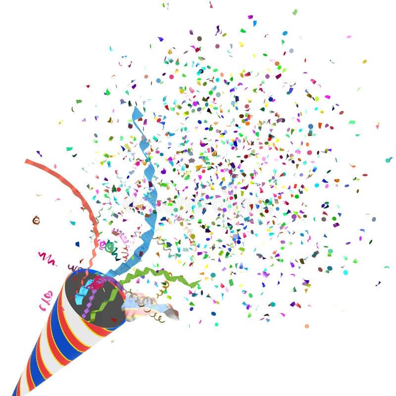 Party Cracker vector illustration