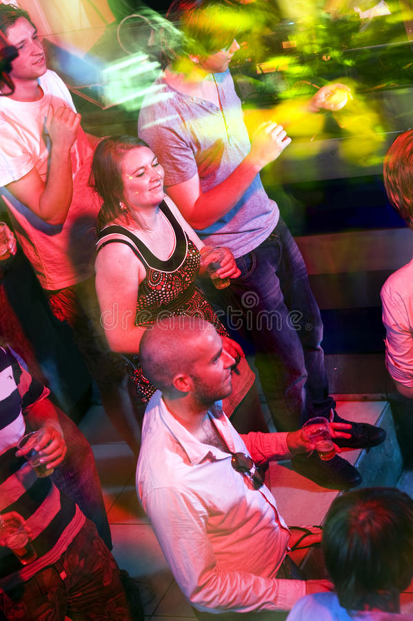 Party crowd royalty free stock image