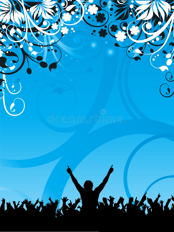 Download Party Crowd Royalty Free Stock Photography - Image: 3064407