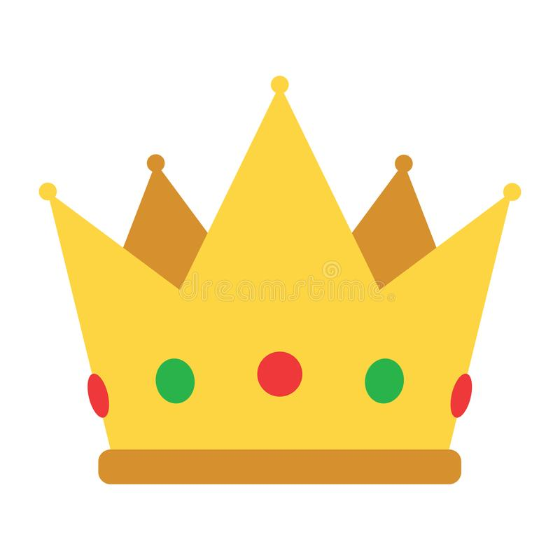 Party crown icon stock illustration